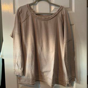 NWT Free People Never Can Tell Long Sleeve